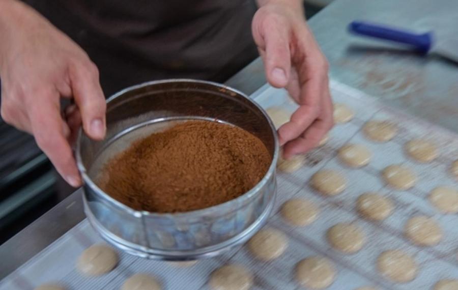 macarons cacao