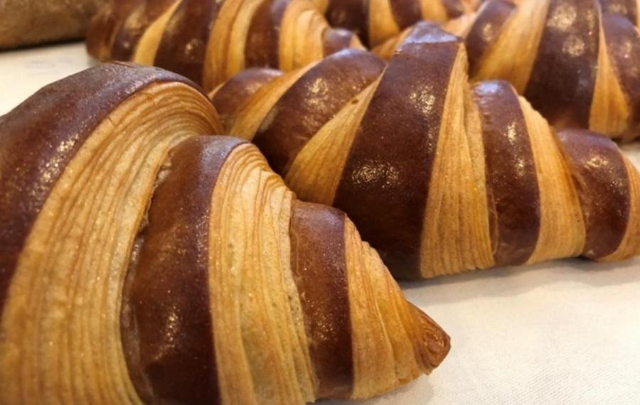 croissants twee kleuren