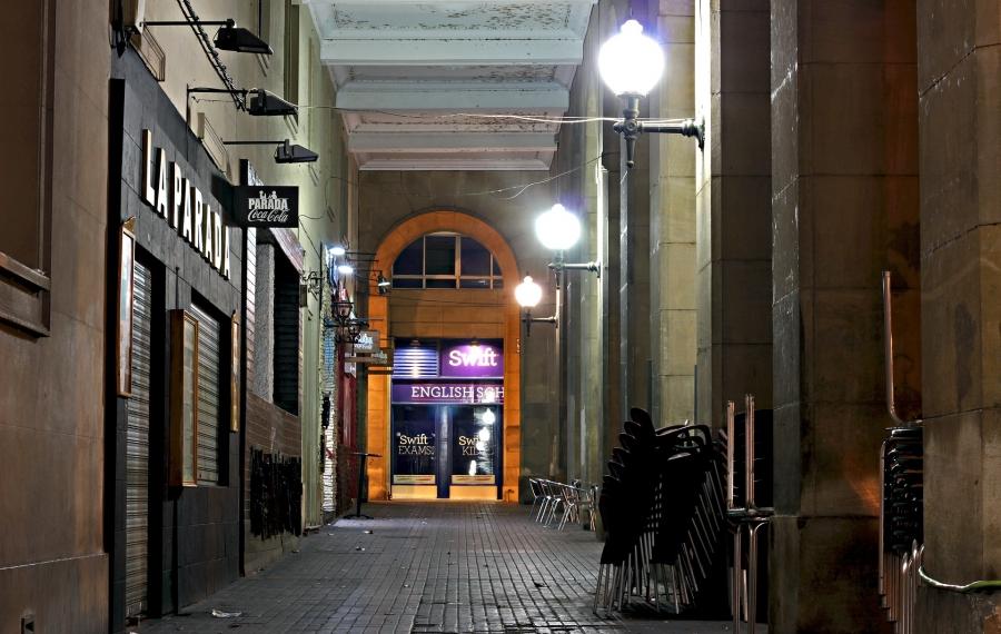 stille straat