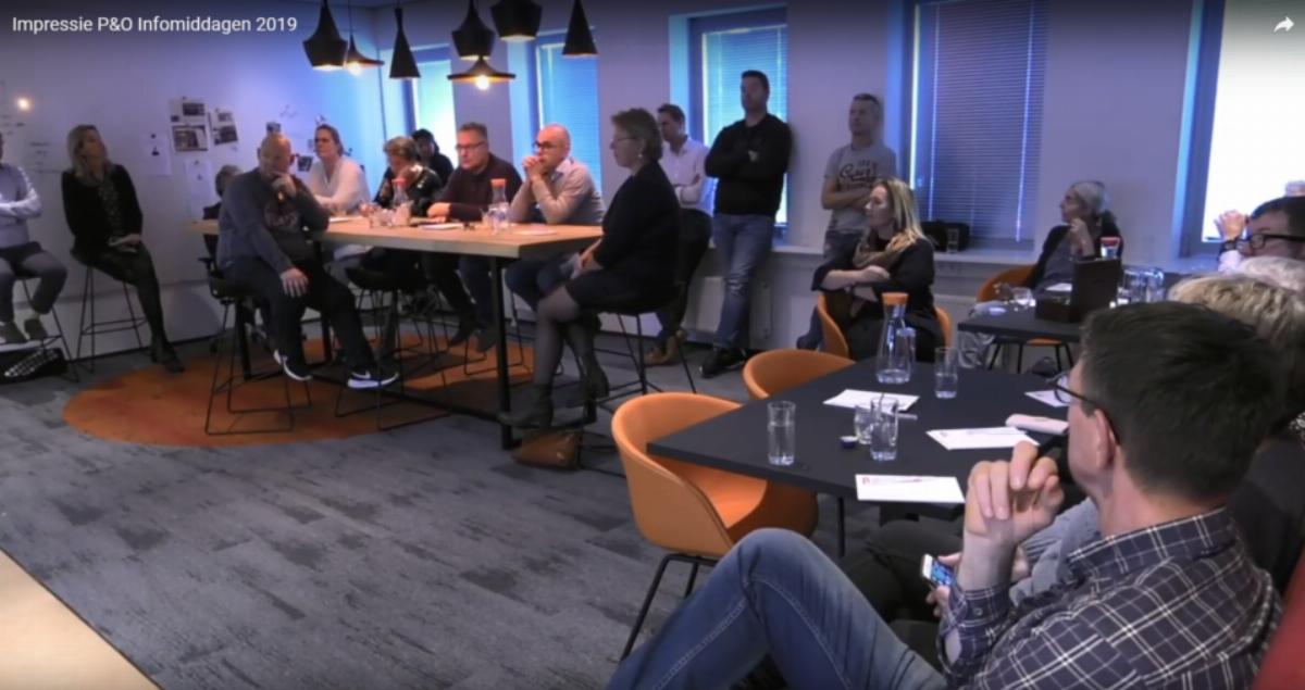 Impressie P&O Inloopdagen 2019
