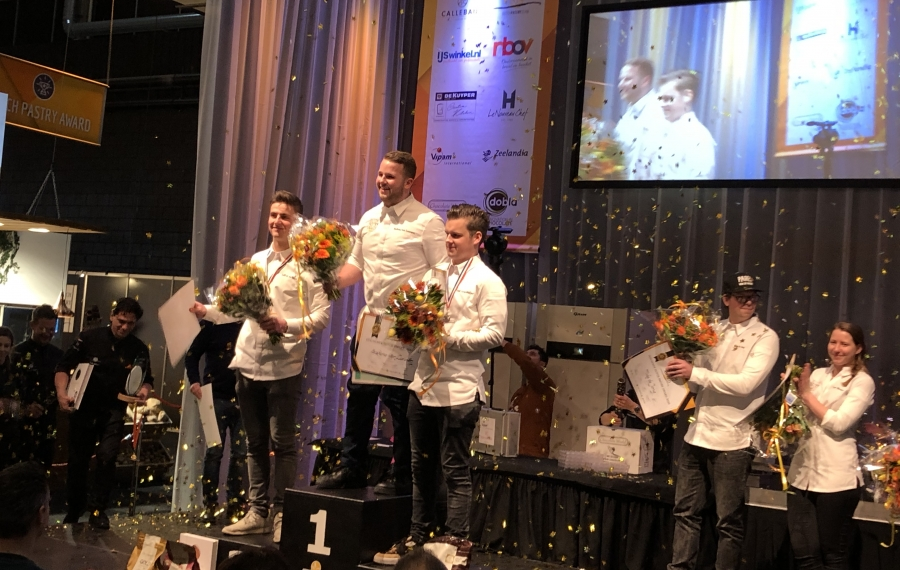 Stefano van Leeuwen wint Dutch Pastry Award 2020
