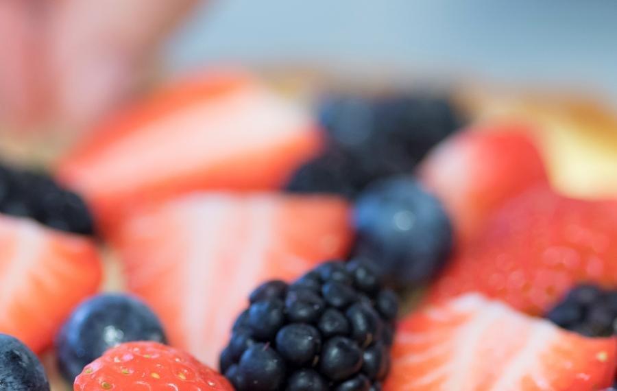 taart vers fruit